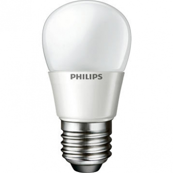 PHILIPS LEDluster MV dimmable, 4W E27 2700K P45 FR - LED-Zierlampe, matt