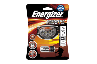 ENERGIZER Headlight Pro Advanced, 7 LED (3 x AAA-Batterien inklusive)