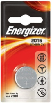ENERGIZER CR2016, 3V Lithium-Knopfzelle