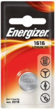 ENERGIZER CR1616, 3V Lithium-Knopfzelle