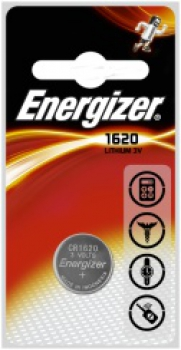 ENERGIZER CR1620, 3V Lithium-Knopfzelle