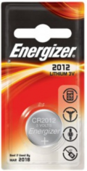 ENERGIZER CR2012, 3V Lithium-Knopfzelle