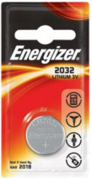 ENERGIZER CR2032, 3V Lithium-Knopfzelle