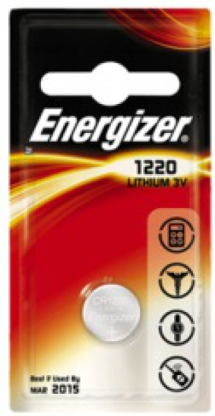ENERGIZER CR1220, 3V Lithium-Knopfzelle