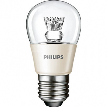 PHILIPS LEDluster, dimmable, 3.5W(=25W) E27 2700K CL - LED-Zierlampe, klar