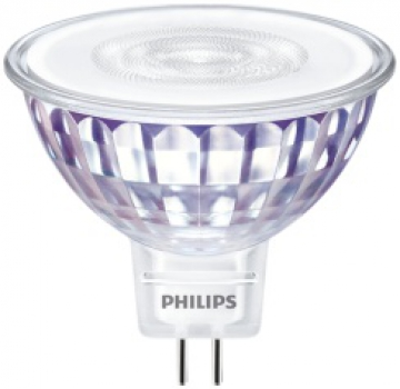 PHILIPS MASTER LEDspot Value, 12V/5,5W (=35W), MR16, GU5.3, 460lm, 830, 36°, DIM