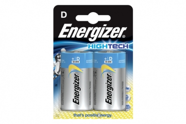 ENERGIZER HighTech Alkaline LR20/AM1/E95 D PowerBoost, 1,5V, 2er-Blister