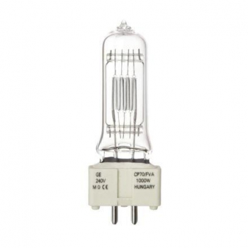 GE GENERAL ELECTRIC 88471, Halogen Display Optic Lamp, 240V/1000W, GX9.5, FVB / FVA