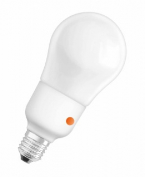 OSRAM DULUX INTELLIGENT SENSOR Mini Ball, 230V/15W, E27, 2700°K, 850lm