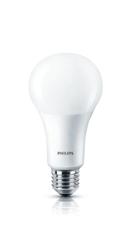 philips master ledbulb 230v 15w 100w e27 2700 k 25 39 000h matt dimtone. Black Bedroom Furniture Sets. Home Design Ideas