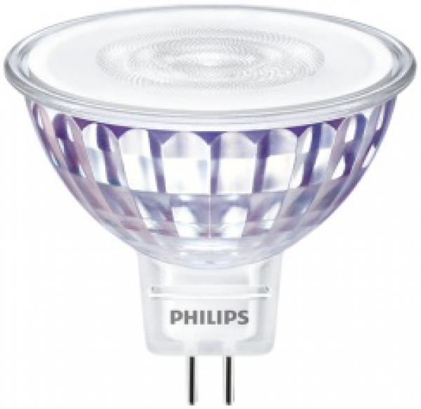 PHILIPS MASTER LEDspot Value, 12V/5,5W (=35W), MR16, GU5.3, 450lm, 827, 36°, DI