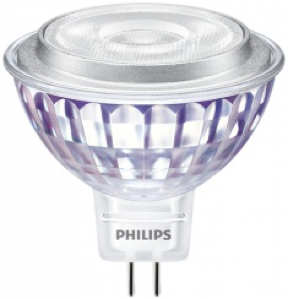PHILIPS MASTER LEDspot Value, 12V/7W (=50W), MR16, GU5.3, 660lm, 840, 60°, DIM