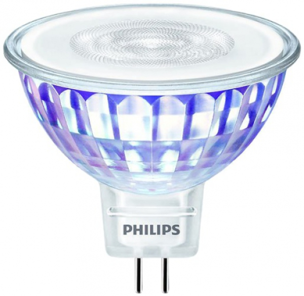 PHILIPS MASTER LEDspot Value, 12V/7W (=50W), MR16, GU5.3, 660lm, 840, 36°, DIM